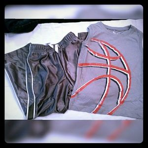 Boys 4T pants and tank, great condition